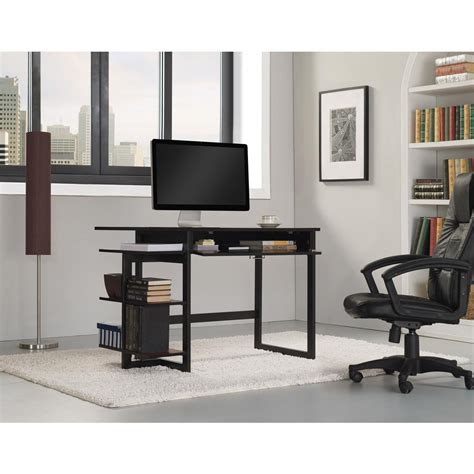 bell o computer desk bell 39 o flagler computer desk in black od8453 45 pb01 the