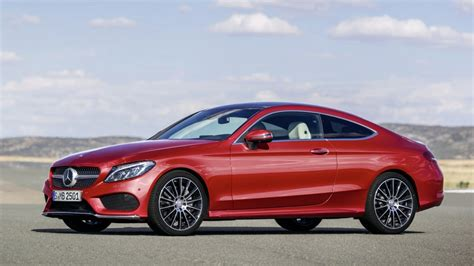 Mercedes C300 Coupe 2016 by 2016 Mercedes C Class Coupe Revealed Lighter Larger