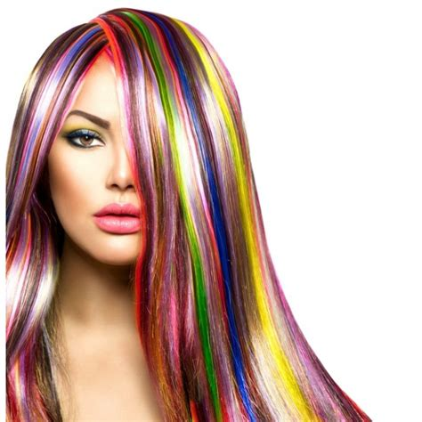 Hair Color Pictures by Color Temporary Hair Dye Non Toxic Hair Chalk 1561