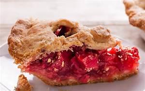 Strawberry Rhubarb Pie with Sour Cream Crust Recipe