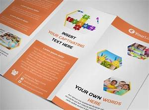 child children development school tri fold brochure With brochure templates for school project
