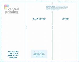 85 x11 brochure template brochure templates central With 8 5 x11 brochure template