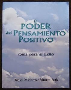 El Poder Del Pensamiento Positivo Pdf Norman Vincent Peale