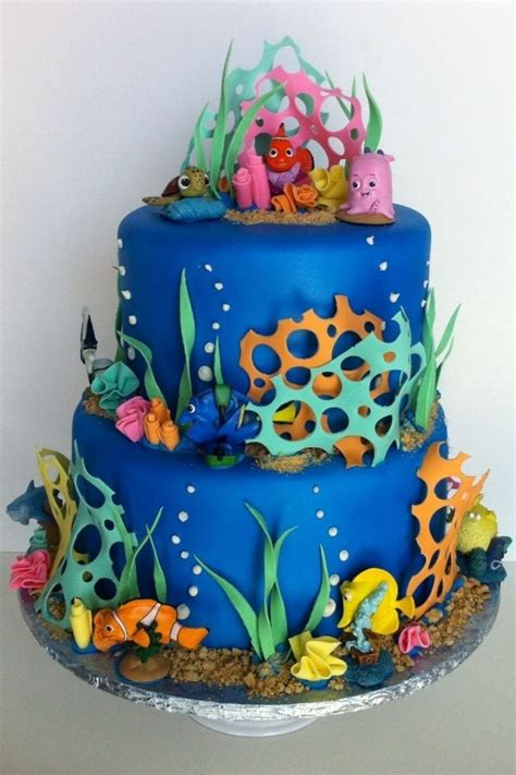 Finding Nemo Cake Cakecentralcom