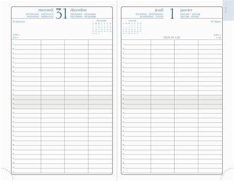 horaire bureau agendas exacompta 2018 modèle journée planifiée 21 en