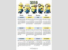 New York Web Design Studio, New York, NY Minions Calendar