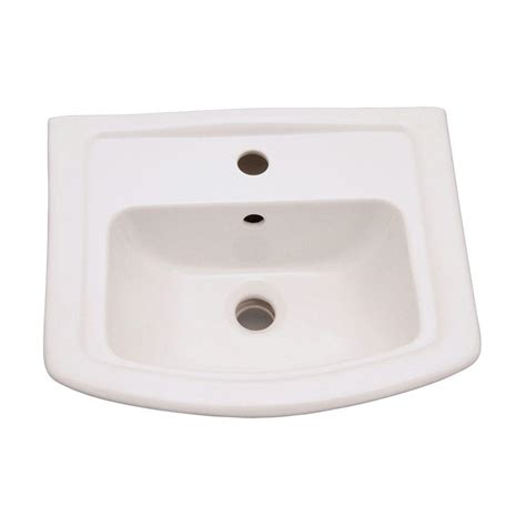 barclay products washington 6 in pedestal sink basin only
