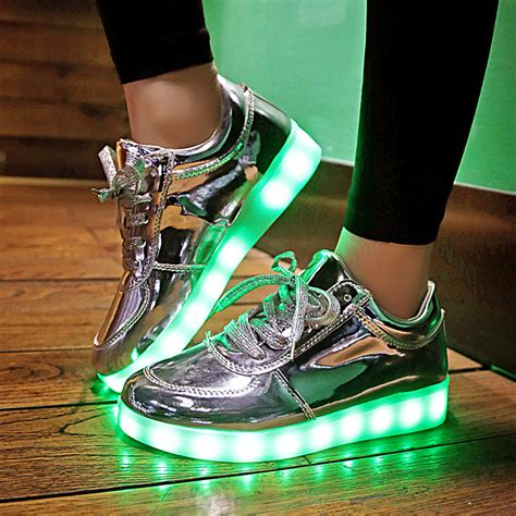 led light up shoes in stores aliexpress com buy 2016 shining 11 colors luminous sport
