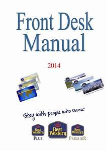 Front Desk Manual By Trykpartner