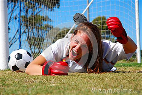 angry screaming soccer player stock photo image