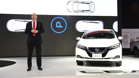 2018 Nissan Leaf Ev Showcased In Thailand