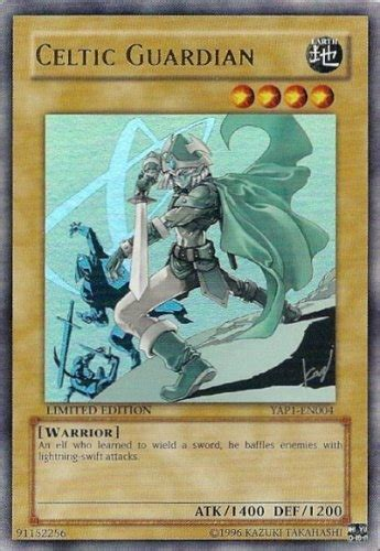 yu gi oh promo single celtic guardian ultra rare yap1