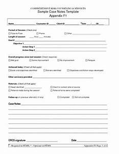 free case note templates sample case notes template With case notes social work template