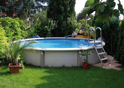 pool mit kompletteinbau stahlwandbecken rundpool ovalpool mister pool aus nieder 246 sterreich