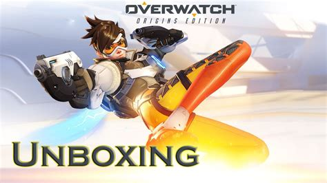 Unboxing Overwatch Pc Origins Edition Youtube