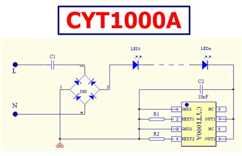Cyta Linear Constant Current Led Driver Cyt