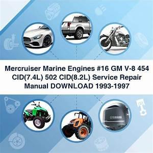 Mercruiser Marine Engines  16 Gm V