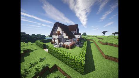 minecraft jak zrobic ladny domekhow  build  nice house  youtube