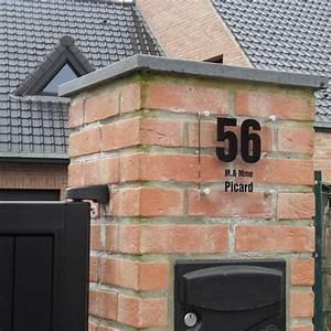 Plaque Numero Maison : plaques professionnelles personnalis es pour soci t en plexiglas transparent creativ 39 sign ~ Teatrodelosmanantiales.com Idées de Décoration