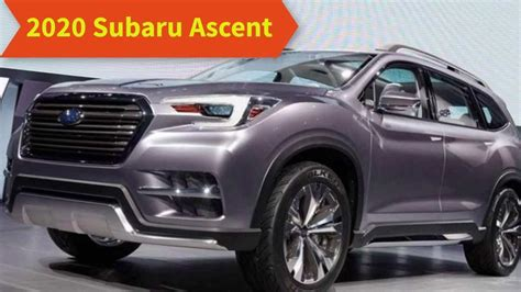 subaru ascent 2020 subaru ascent 2020 review redesign engine and release