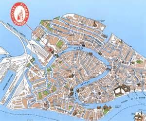 Venice Italy City Map