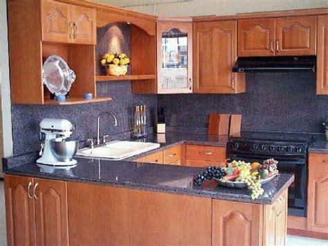 mueble de cocina de algarrobo estilo clasico casa web