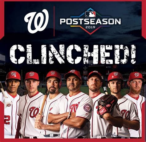 nats  care  business  clinch home field