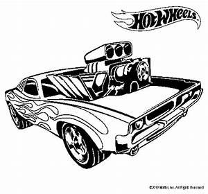 Hot wheels #19 (Transport) Coloriages à imprimer