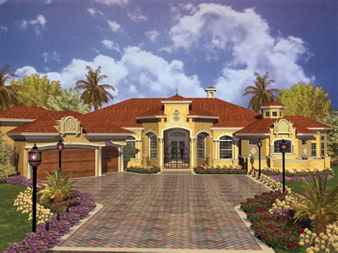 Spanish Style Homes Plans « Floor Plans