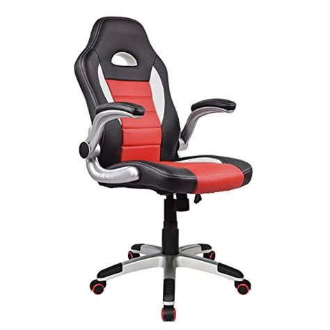 homall ergonomic racing chair high back gaming chair pu