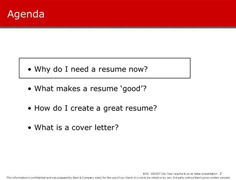 city year resume workshop ppt