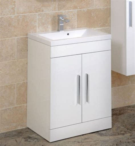 Adiere Vanity Unit White  Contemporary  Bathroom Vanity