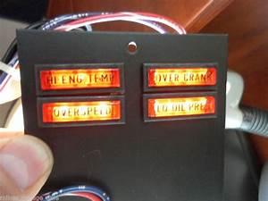 Warning Light Panel Onan 322