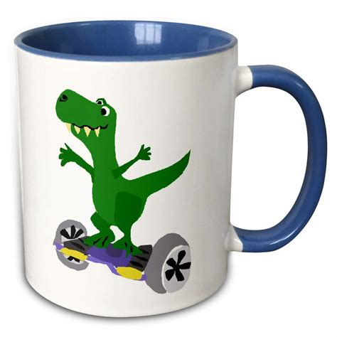 4.8 out of 5 stars 87. 3dRose Funny Green Trex Dinosaur Playing Golf Coffee Mug ...