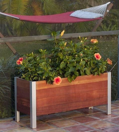 Hochbeet für Balkon selber bauen und bepflanzen  20 Tipps