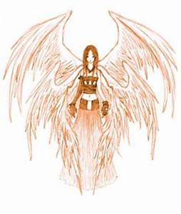 Six-winged angel shined - vector clipart | seraphim ...