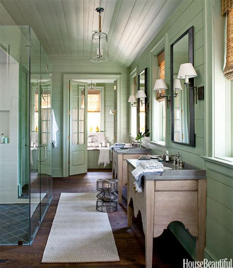 a bathroom drenched in color painting walls trim design meet style