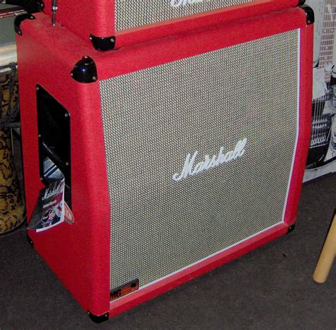 marshall mg fx red amp head  cabinet amplifier mg