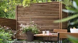 Barrière Bois Castorama : 5 cl tures de jardin aussi belles qu 39 efficaces ~ Premium-room.com Idées de Décoration