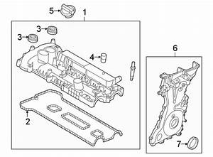 2016 Ford Explorer Engine Valve Cover Gasket  Liter