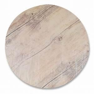 Plateau Rond En Bois : plateau melamine imitation bois rond 33 cm pack de 3 unit s ~ Teatrodelosmanantiales.com Idées de Décoration