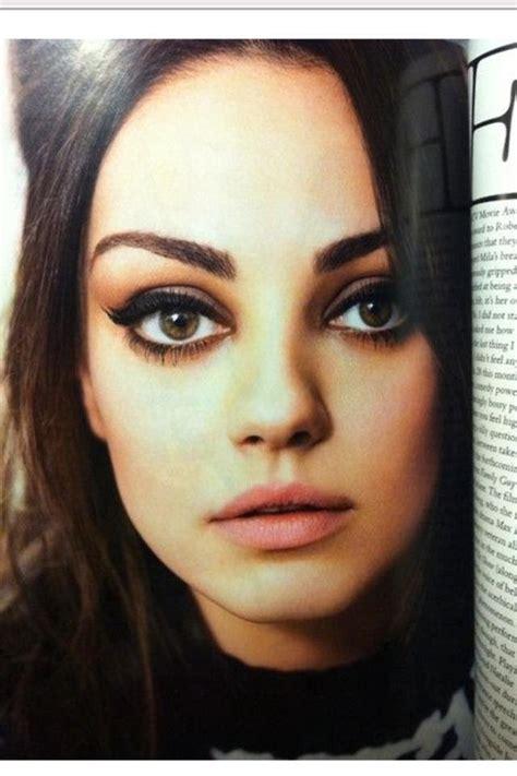 Mila Kunis Inspired Make Up Tutorial Youtube