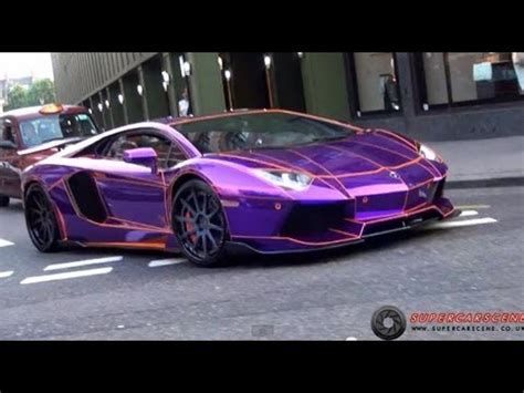 Deafening 'tron' Lamborghini Aventador!!! Youtube