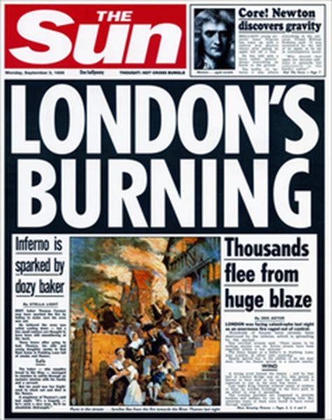 great fire  london newspaper report writing