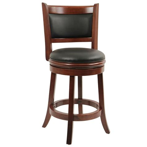 Swivel Island Stools by Counter Height Bar Stool Wood Kitchen Office Swivel Stool