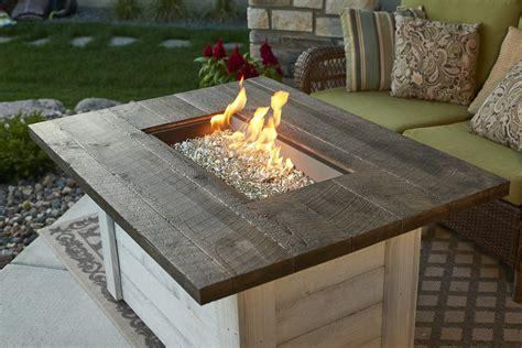 Tisch Mit Feuerstelle Gas by Alcott Rectangular Gas Pit Table