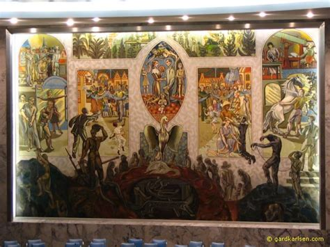 Eerie Mural In The Un Security Council Chamber Page 1