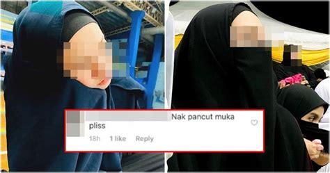 nak pancut muka plisss gambar selfie wanita bertudung