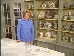 martha stewart kitchen collection how to display a collection in a cabinet martha