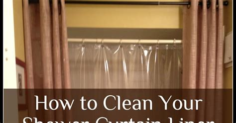 the prudent pantry clean your plastic shower curtain liner